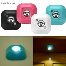 DC Shining Hot Selling Drop Shipping  Mini LED Wireless Night Light Motion Sensor Lights  Wall Emergency Night Lamp
