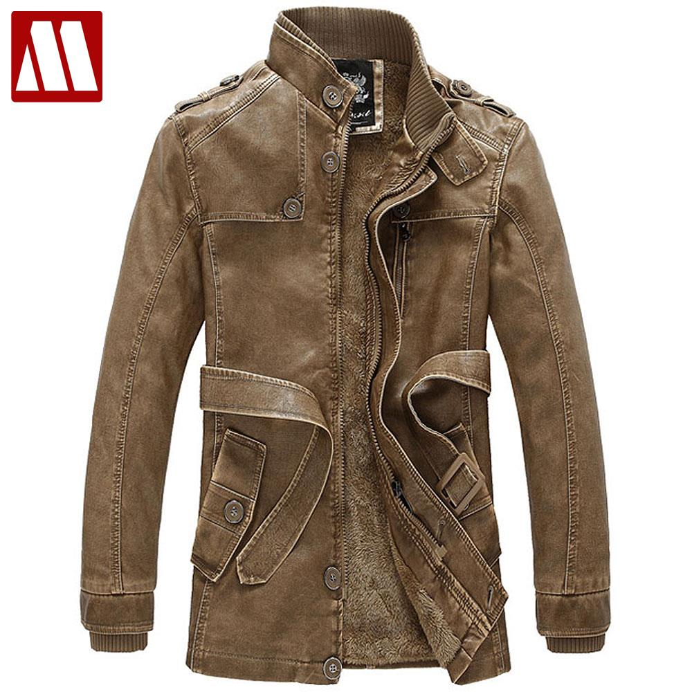 Mens jacket lined with fur - Top Luxurious Suede Motorcycle Jacket Fur Lined Winter Leather Coat Waterproof Windproof Men S Fur Trench Coat