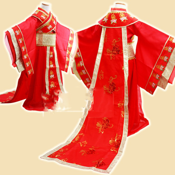 3 Designs Little Girl Red Tang Dynasty  Empress Dance Costume Princess Hanfu Children's Day Stage Performance Cosplay you zi yin tang dynasty prince and empress costume parent child costume sets mother son stage clothing