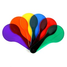 Montessori Kids Toy Baby 6pcs Color Paddles Tablets Preschoo