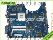 NOKOTION BA92-06105A Laptop Motherboard for Samsung R580 R590 Intel HM55 graphic card DDR3 Mainboard 100% full tested