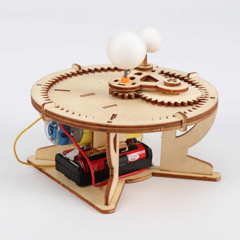 Montessori ดาราศาสตร์ของขวัญ Sun Earth Moon Planet ระบบพลังงานแสงอาทิตย์ DIY วิทยาศาสตร์ภูมิศาสตร์ของเล่น STEM การศึกษาโรงเรียนครู