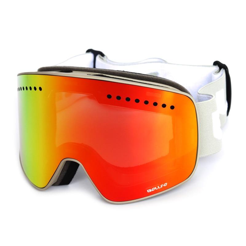 Winter magnetic connection ski goggles UV400 anti-fog ski eyewear mask snow glasses for men women snowboard Skiing goggles все цены