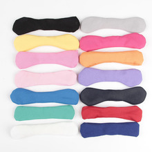 Trail order 10pcslot 14 Colors 5 Chiffon Bows DIY Hair Bow Knotted Hair Bows Without headband For Baby Girls Hair Accessories