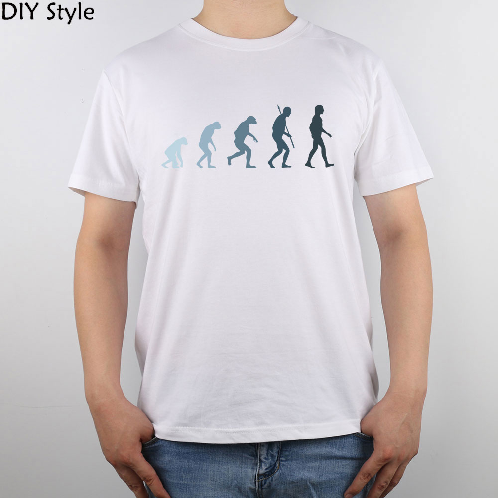 Evolution Of Man Social Strategy Tapping Unconscious Behavior t-shirt Top Pure Cotton Men T Shirt