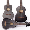 Soprano Concert Tenor Ukulele 21 23 26 inch Black Hawaiian Mini Guitar Guitarra Mahogany 4 Strings Ukelele Handcraft Wood Uke