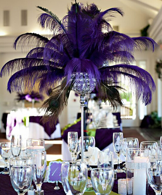 About 30 Days Sent Out Order Ostrich Feathers Wedding Centerpieces No Feather Including