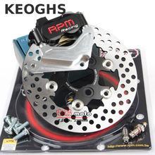 Best price Keoghs Rpm Motorcycle Hydraulic Brake Caliper Disc System Set 200mm And 220mm Floating Disc For Honda Dio 18/27/28/zx34/35/36
