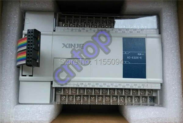 XC-E32X XINJE NPN 32 points input I/O expansion module new in box xc e4ad2da xc series plc i o expansion analog module xc e4ad2da 4 channel 14 bits analog input