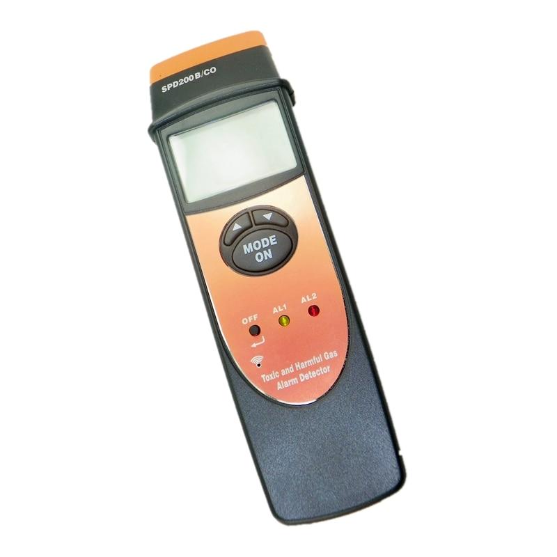 Handheld Carbon Monoxide Meter High Precision CO Gas Tester Monitor Detector Gauge 0-1000ppm Backlight Acousto Optic Alarm