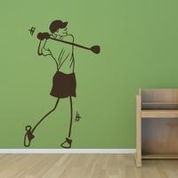 2015New Arrival Golf Art Wall Sticker Sport Pattern Hot Sale Shop Home Decor Wall Decals PVC