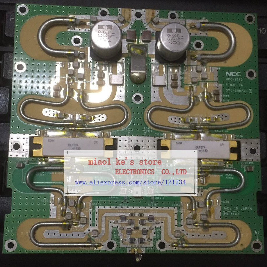 Blf177 With Rf Power Amplifier Tube High Frequency 100w Transmitter 2sc2782 Blf574 Blf 574 Used Pcb Products Quality Goods Original Transistor