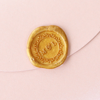 Wedding Initial Stamp Box Creative Wax Seal Stamp Single Wax Stamp Set Diy Wax Seal