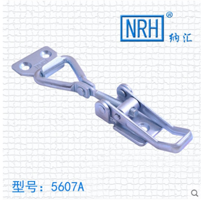 NRH 5607A stainless steel latch clamp pull action clamp Mechanical cabinet high quality adjustable toggle Clamp hasp nrh 5619a 230 sus 304 stainless steel latch clamp wholesale price high quality adjustable latch action push pull toggle clamp