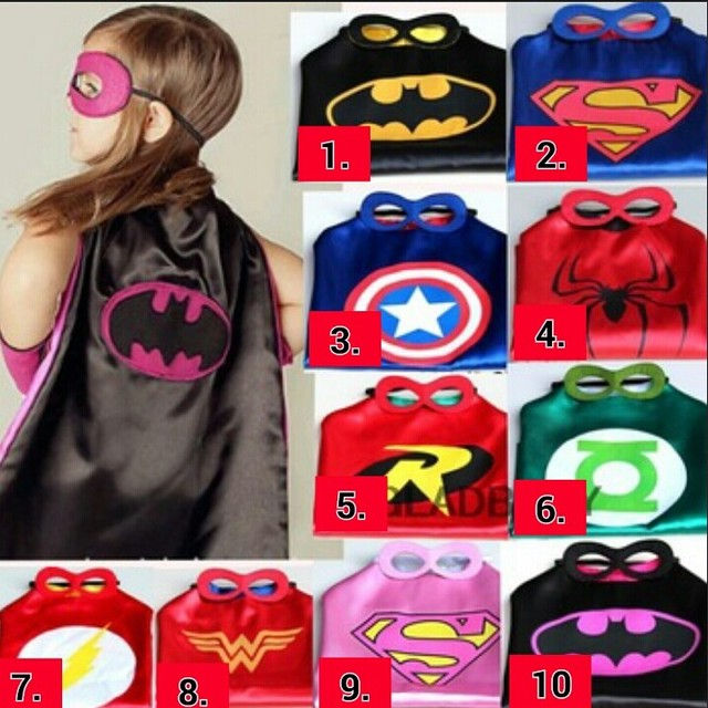 70cm70cm kids superhero capes mask costume capes for kids superman spiderman superhero cape