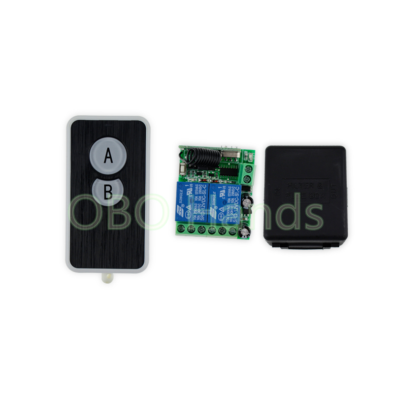 433MHz/315MHz 12V wireless remote control switch+receiver+shell for electric door lock can control 2 doors up to 50m-SL321 wireless 315 433mhz 12v 4ch remote control switch receiver shell for door lock can control 4 doors up to 50m for door lock sl34