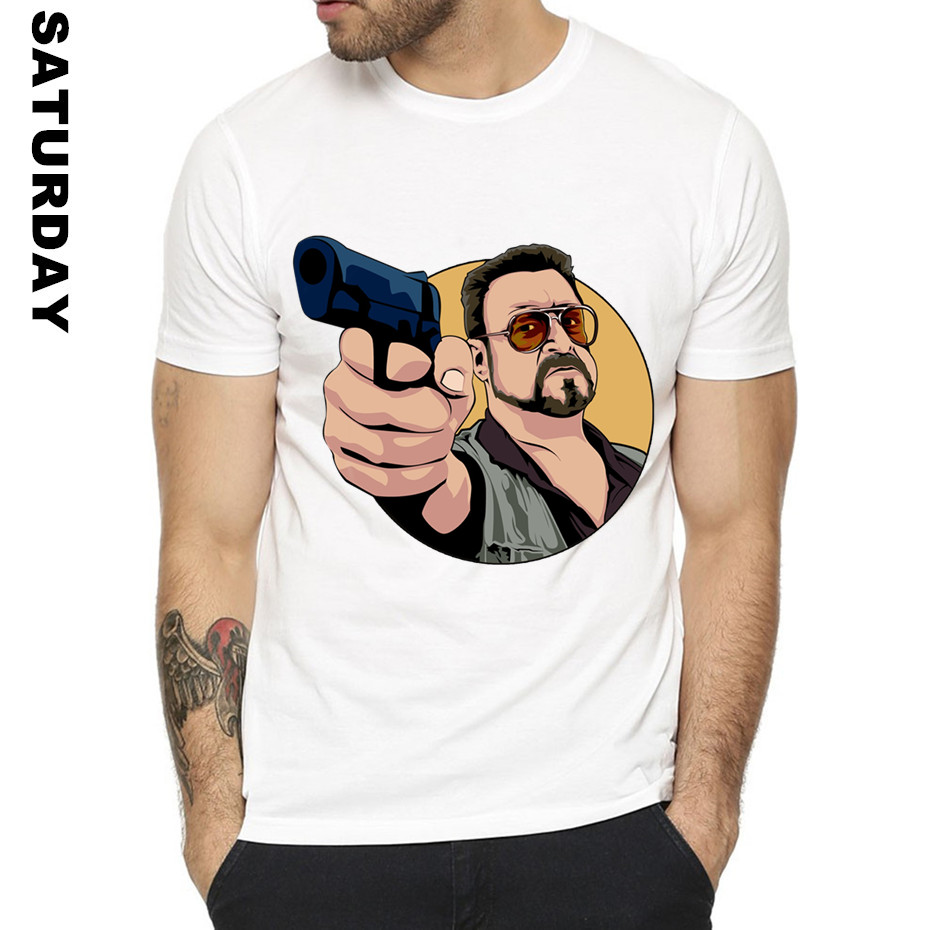 Jeff Bridges the big lebowski Coen Brothers Design Funny   T     Shirt   for Men and Women,Unisex Comfortable   T  -  Shirt   Men's Streewear