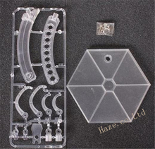 Square Enix Play Arts Kai Plastic PVC Clear stand for 12 Action Figure цена