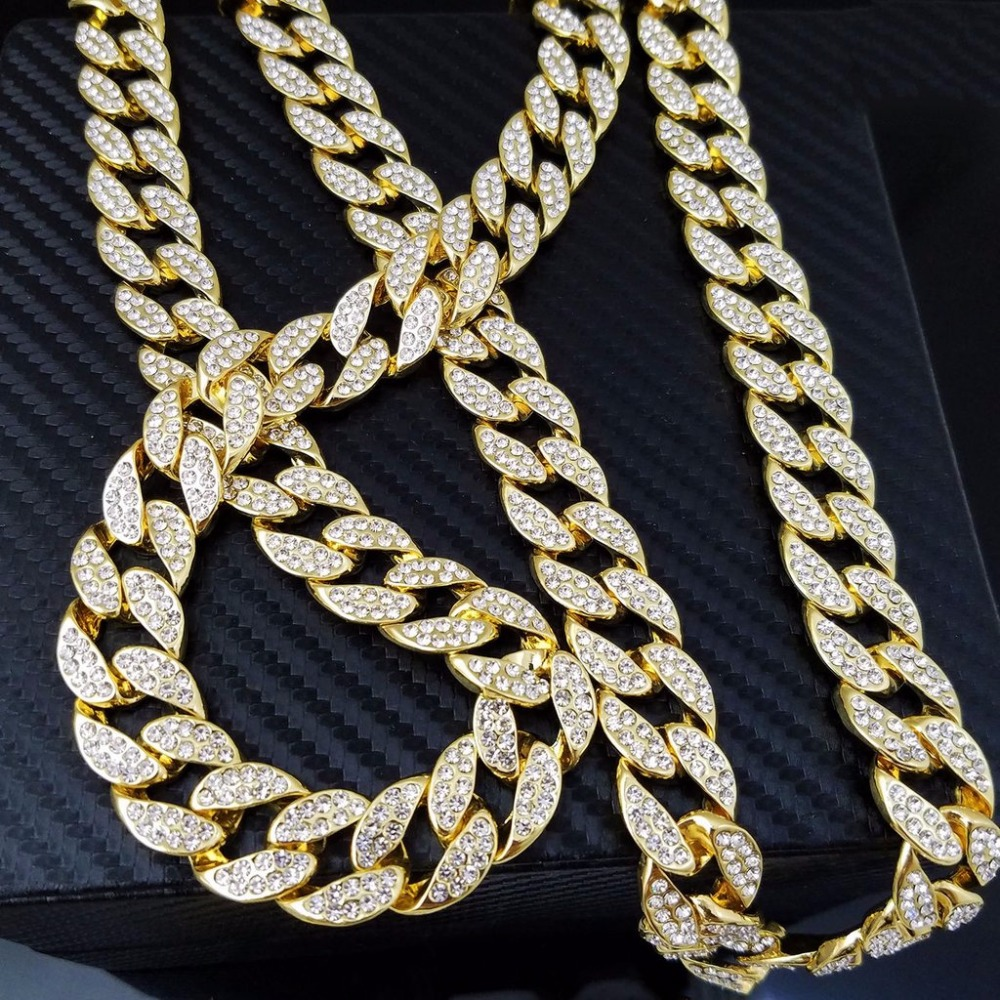 Cuban Link Iced Out Chain Necklace Zilla Goat