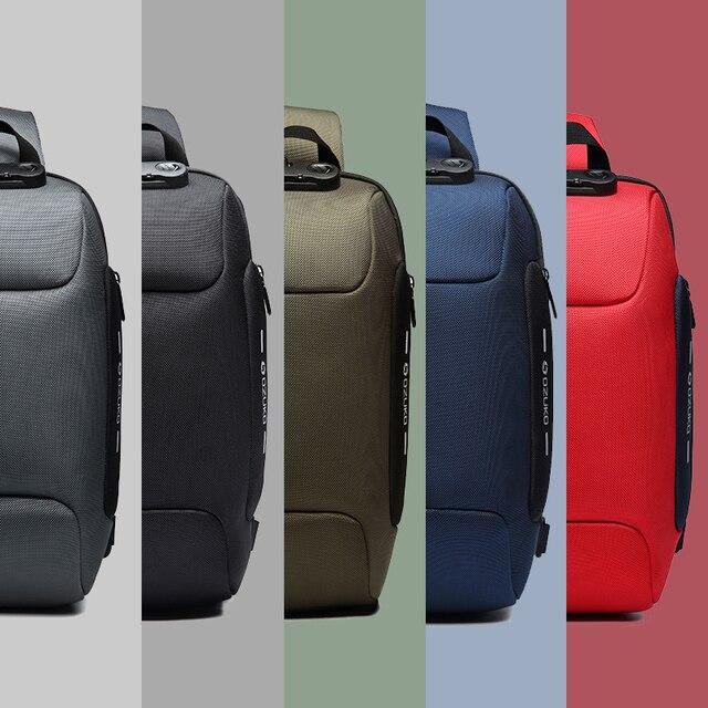 2019 New Multifunction Crossbody Bag for Men  5