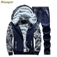 2016 New Thick Hoodies Hot Selling Full Real New Autumn Winter Comfort Single Men S Suit