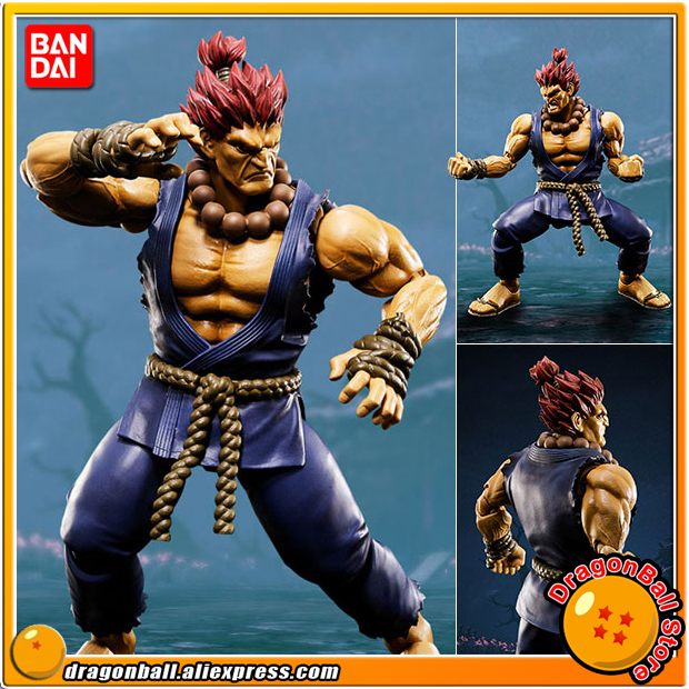 Japan Anime Street Fighter Original BANDAI Tamashii Nations S.H. Figuarts / SHF Action Figure - Akuma japan anime lupin the 3rd original bandai tamashii nations shf s h figuarts toy action figure fujiko mine