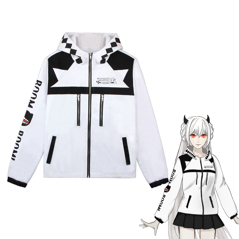 Kantai Collection Kancolle Hoppou Seiki Jacket Cosplay Costume Men Women Casual Hooded Hoodie Sportswear