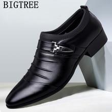 Итальянские модные элегантные туфли-оксфорды для мужчин; Мужская официальная обувь; кожаные Мужские модельные лоферы; мужские слипоны; masculino; большие размеры
