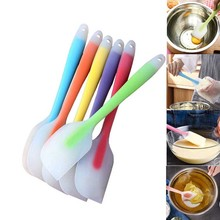 Kitchen Baking Spatulas Heat Resistant Flexible Spatula FDA Grade Premium Cooking Bakeware Silicone Cake