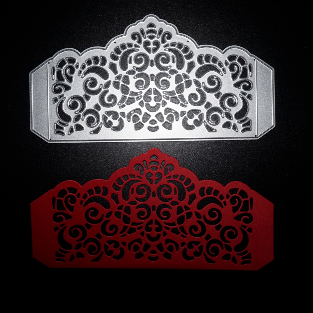 150*78 MM Marco Agradable de Metal Troquelado Scrapbooking Relieve ...