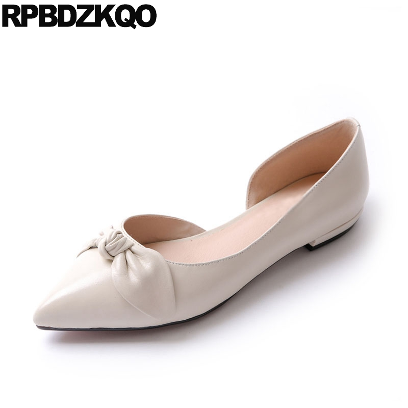 Sandals Genuine Leather Wedding Slip On Ladies Factory Direct White Bow Women Flats Shoes With Little Cute Bowtie Pink Pointed girls and ladies favorite white roller skates with full grain genuine leather dual lane roller skate shoes for adult skating