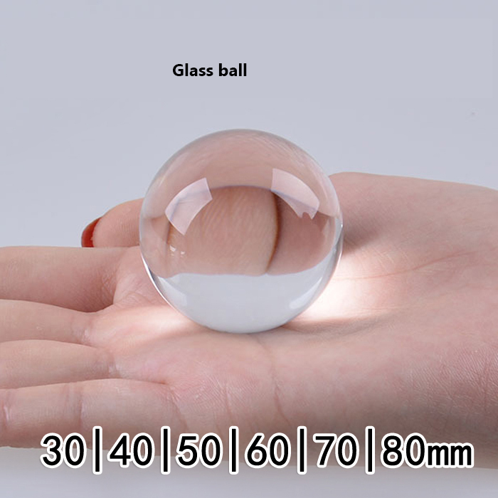 где купить 1pcs/lot High precision 100mm Solid transparent glass bead uesd for Laboratory prevent the splash дешево