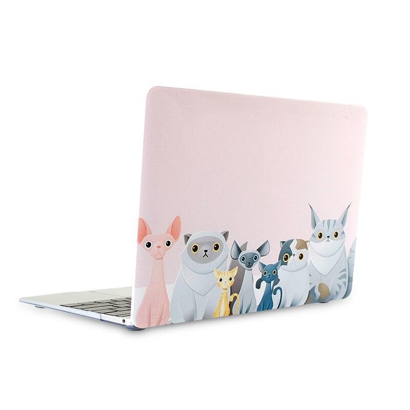 Nuevo estuche rígido mate de dibujos animados para Macbook Air Pro - Accesorios para laptop - foto 2