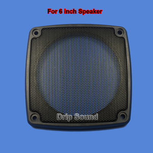"Image 5 - For 3""/4""/5""/6"" inch Car Audio Speaker Conversion Net Cover Decorative Circle Metal Mesh Grille"