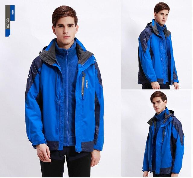 ROYALWAY Men Hiking Jackets Outdoor Jacket Waterproof Windproof ...