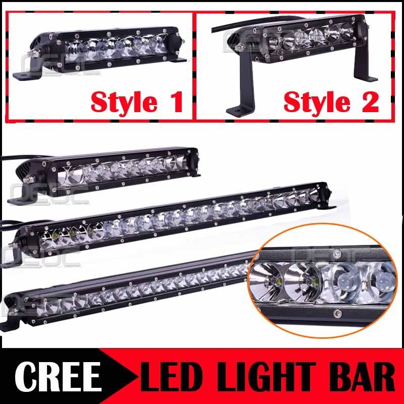 Eyourlife 30W Single Row Spot Led Bar Combo LED Work Lights Bar for SUV Offroad ATT ATV видеоигра бука saints row iv re elected