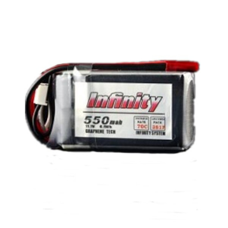 High Quality For Infinity 550mAh 70C 3S 11.1V Lipo Battery 18 Silicone Line JST Plug RC Battery For FPV Racing Drone tiger power 11 1v 550mah 60c 3s lipo battery jst plug for rc fpv racing camera drone spare parts accessories
