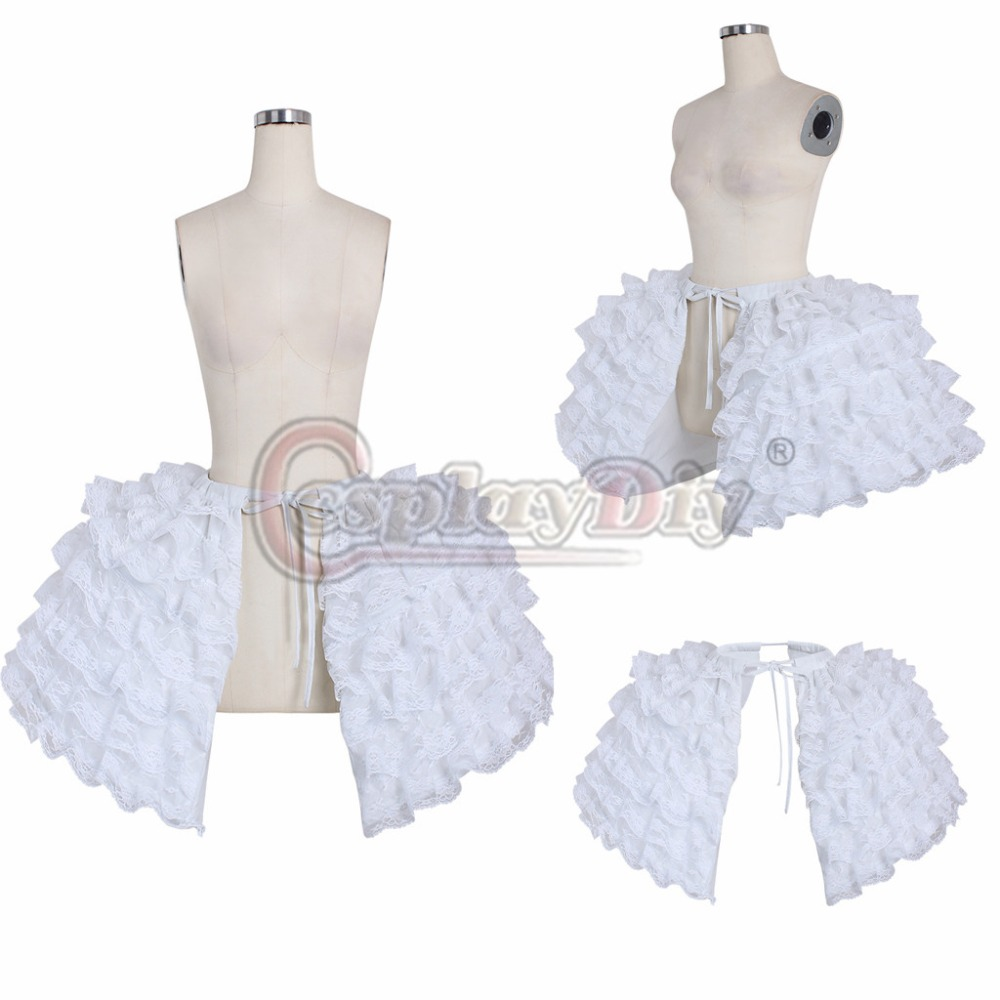 Cosplayidy 18th Century Rococo Ball Gown Petticoat Vintage Marie Antitique Hoop Underskirt Ladies Crinoline Pannier Petticoat