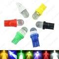 10 pcs T10 W5W 168 194 501 1 LED Car Auto Side Painel Wedge Luz Número Da Placa Da Lâmpada Lâmpada 12 V Branco/Azul/Vermelho/Verde/RGB # CA3802