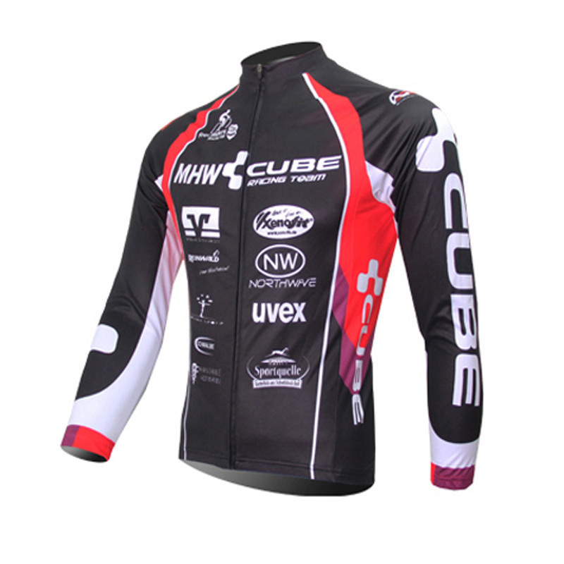 Quick Dry Breathable Cycling Jersey Long Sleeve Summer Spring Men's Shirt Bicycle Wear Racing Tops Bike Cycling Clothing/Clothes  цена и фото