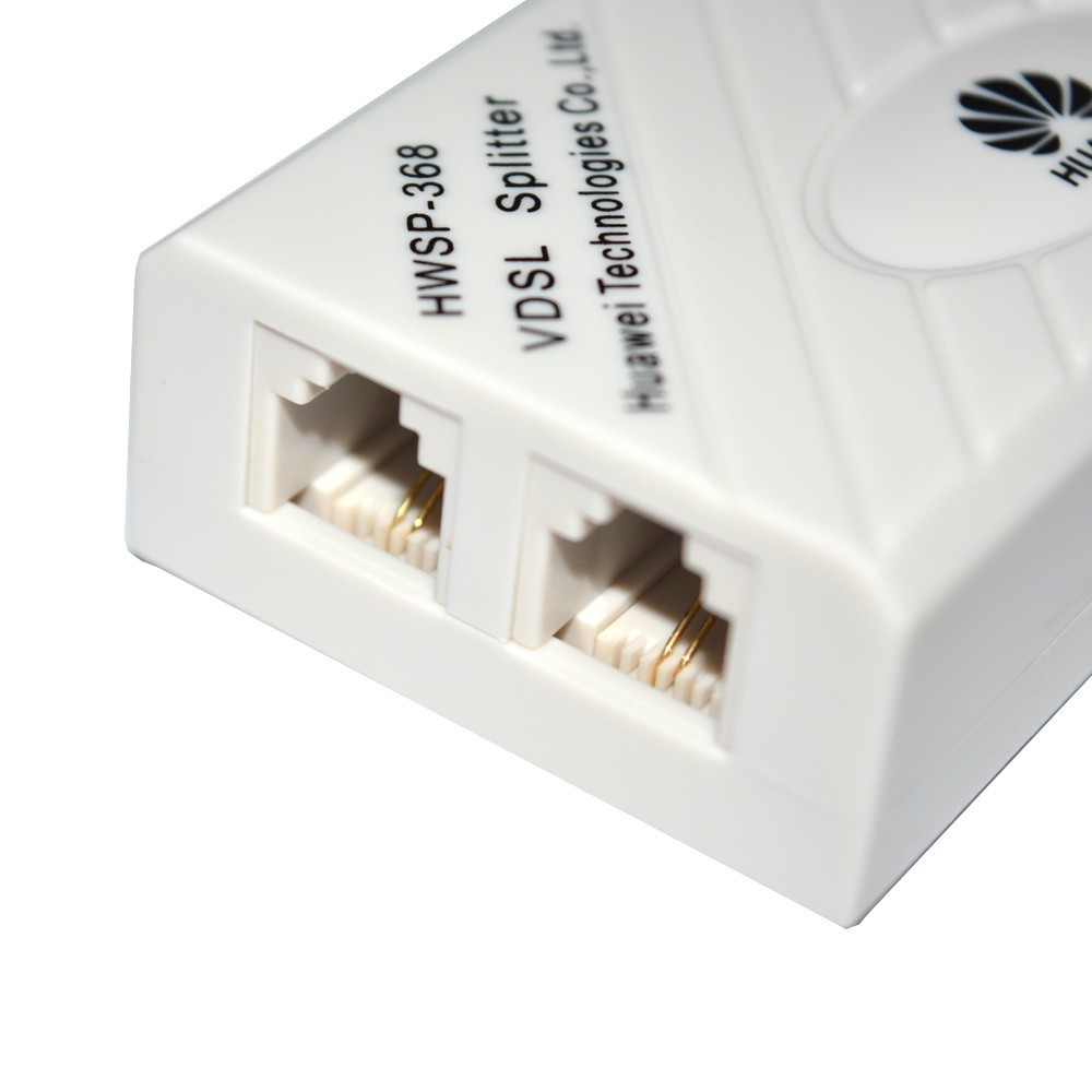 Original Huawei Vdsl Splitter Broadband Telephone Filter Surge Wiring Diagram Product Pictures And Graphic Instructions