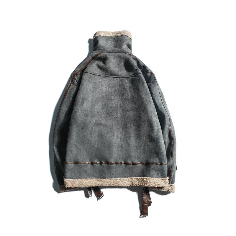 Jvjvzkass Agneau Veste Hiver Gray Cerf 2018 Nouvelle Frappé Z269 Coton Daim Femelle Locomotive Couleur Épais Manteau khaki Couture rr4w7fdFxq