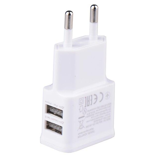 5v 2 0a plug dual double usb universal mobile phone charger wall ac rh aliexpress com