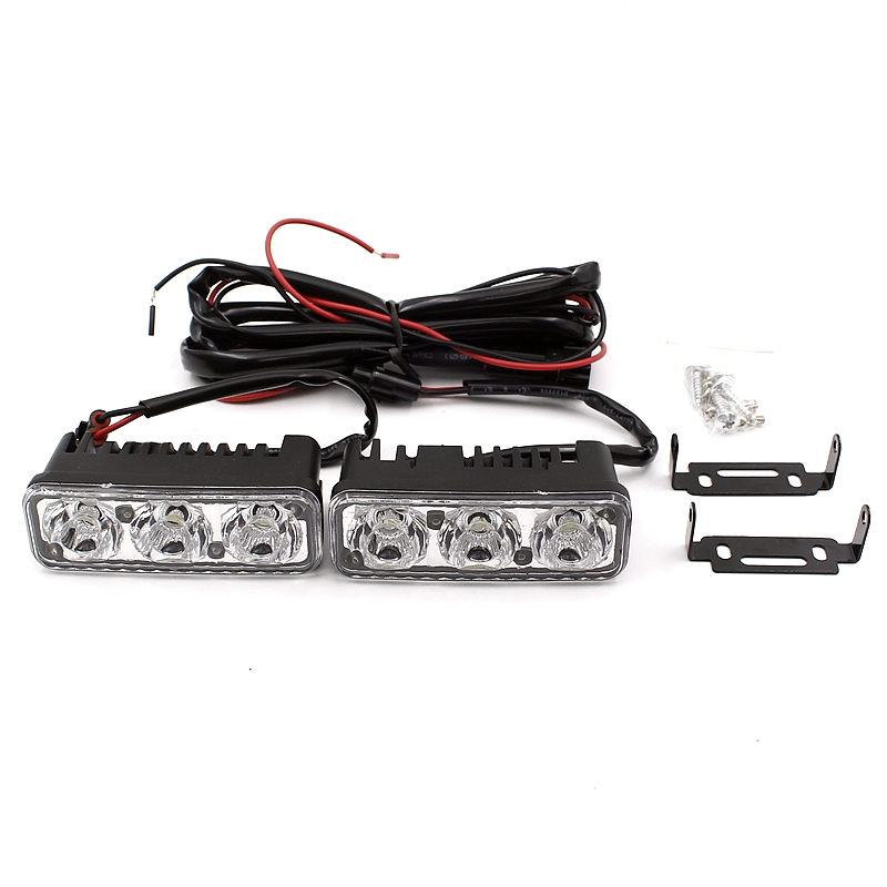 Yituancar 2X3 LED 9W Universal Daytime Lighting Light Source Styling - Bilbelysning - Foto 5