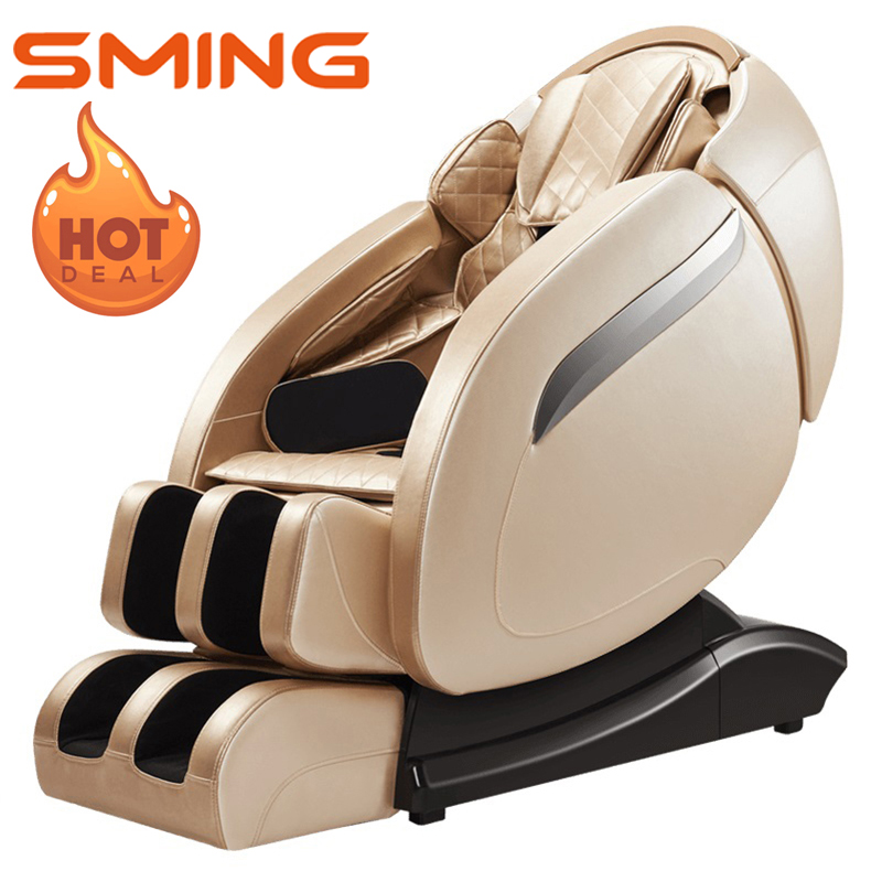 SL Rail Massage Chairs For Home Electric Automatic Full Body Kneading Shiatsu Multi-function Capsule Massagesessel