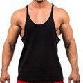 Летняя одежда хлопок майки майка мужчин рубашка синглет Бодибилдинг Плюс размер жилет W3