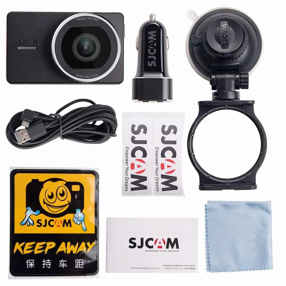 """オリジナル SJCAM SJDash 車 Dvr フル HD 1080 1080p ダッシュカメラ sj ダッシュカムビデオレコーダービデオカメラナイトバージョン車カム 3.0 """"インチの dv"""
