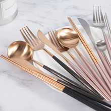 Mealivos Cutlery Set Stainless Steel Western Food Tableware Sets Fork Steak Knife Dinnerware Drop Shipping