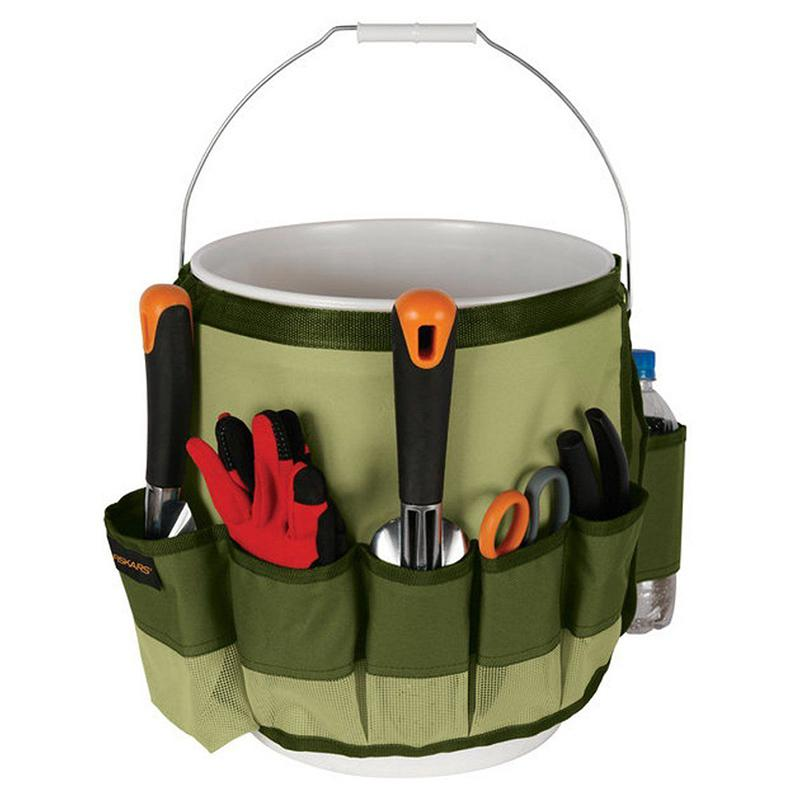 HiMISS Multifunctional Garden Bucket Style Tool Bag Tool Holder