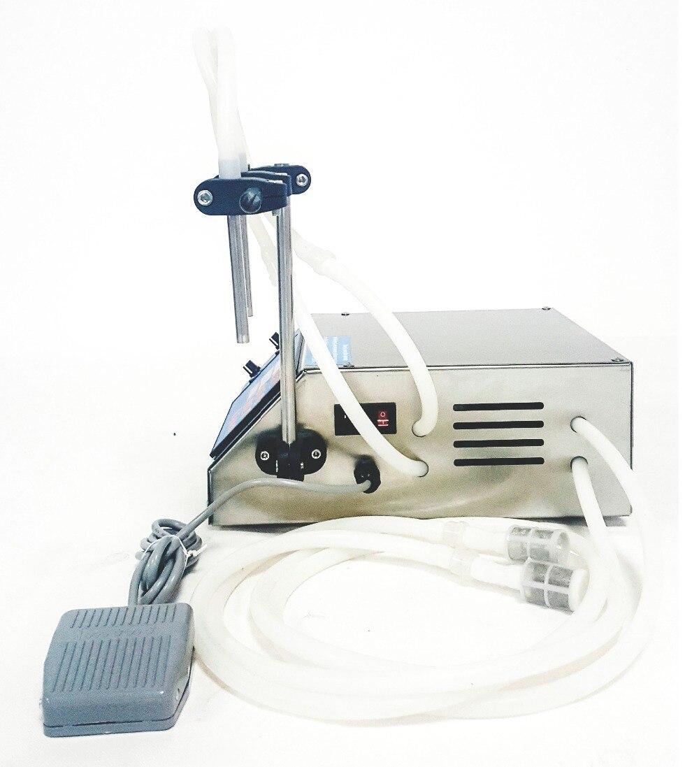 CE. RoHS Électrique liquide machine de remplissage, remplissage de l'eau embouteillée huiles de boissons embouteillage équipement outils avec 2 buses